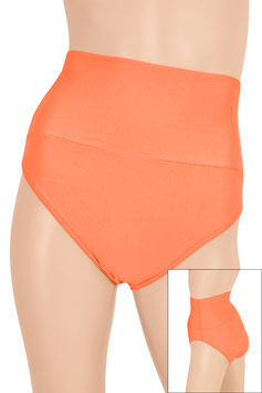Damen High-Waist Slip orange