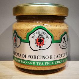 Crema di Porcino e Tartufo, Steinpilze mit Trüffel Sauce