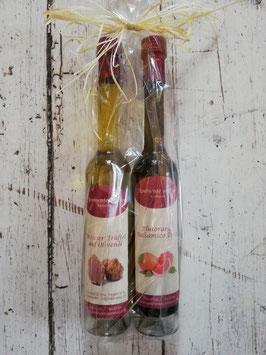 Weisser Trüffel auf Olivenöl & Blutorange Balsamico