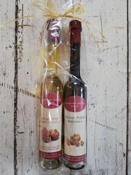 Weisser Trüffel auf Olivenöl & Weisser Trüffel Balsamico