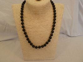 Halskette Obsidian