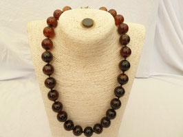 Halskette Karneol * Farbverlauf * Unikat