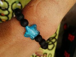 Armband Lava & Glasstern