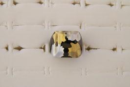 Kunststoff-Ring, 2 gold-silberne Varianten