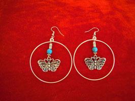 Creolen mit Schmetterling