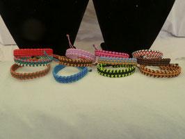 Makramee-Armband - Breite 1,0 cm