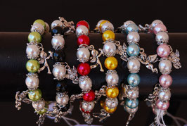 Armband ~ Perlen & Engel