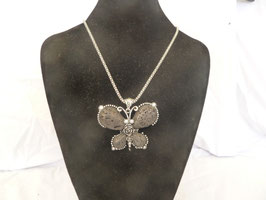 lange Halskette Tiere Lava