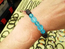 Armband Lava & Glas uni