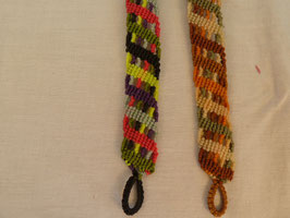 Makramee-Armband Colourful