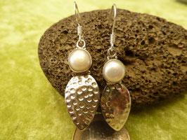 Ohrhänger Silber & Perle I