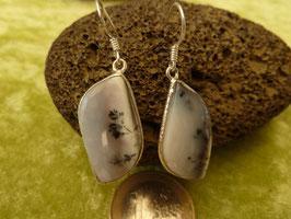 Ohrhänger Silber & Dendriten-Achat II