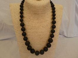 Halskette Onyx * konisch