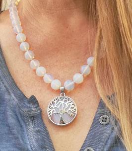 Halskette Opalith * Baum des Lebens *