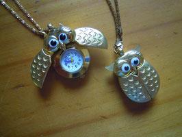 Uhrenkette Eule