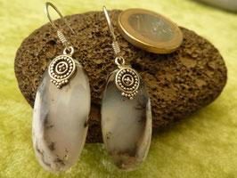 Ohrhänger Silber & Dendriten-Achat I