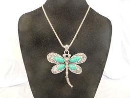 lange Halskette Libelle