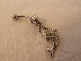 Piercing Bauchnabel * Delphin