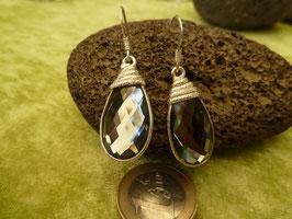 Ohrhänger Silber & Rauchquarz VII