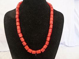 Halskette Bambuskoralle Tonnen