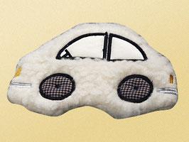 Auto Wollflor mit Stickerei