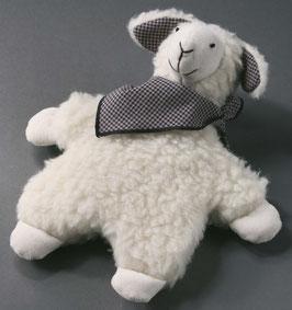 Lämmchen Fred oder Bär Egon aus Wollflor natur