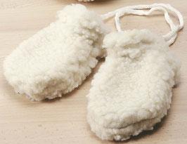 Babyhandschuhe Wollflor