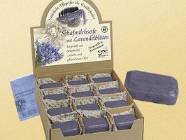 Schafmilchseife mit Lavendelblüten