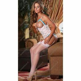 Body bustier corset nuisette sexy porte jarretelle lingerie coquin coquine.