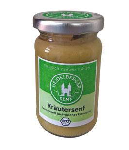 Kräutersenf, Glas 100g