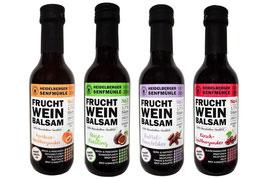 Frucht-Wein-Balsam - alle Varianten zum Probierpreis