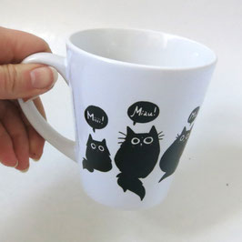"Tasse ""Black Cats"""