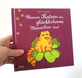 """Buch: """"Warum Katzen die glücklicheren Menschen sind"""""""