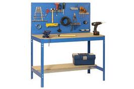 Werkbank blau 121 cm breit