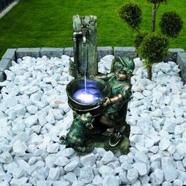Brunnen Eimer mit LED-Beleuchtung