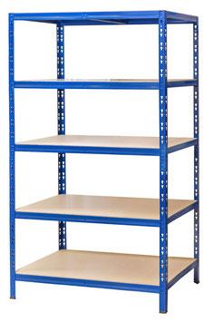 Lagerregal blau 90 x 60 cm
