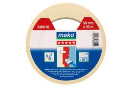mako® hochwertiges Abdeckband 30 mm x 50 m