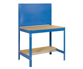 Werkbank blau 91 cm breit