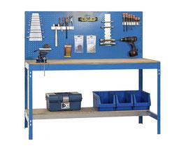 Werkbank blau 151 cm breit