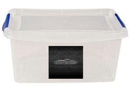 10 Stück Aufbewahrungsbox mit Deckel 29,5 cm