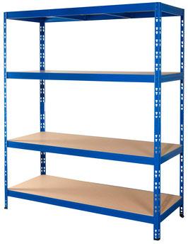 Weitspannregal Rom XL blau 160 x 60 cm