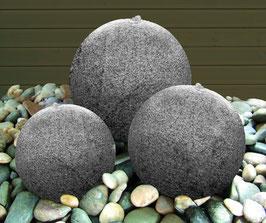 Granit Brunnen mit LED-Beleuchtung