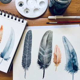 WORKSHOP - Feathers & fluffy birds Creative Life