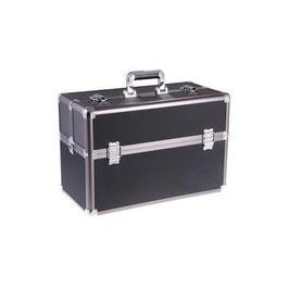 Aluminium verzorgingskoffer zwart groot