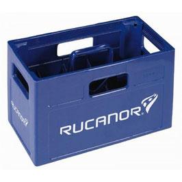 Bidonkrat blauw 10 bidons Rucanor | leeg