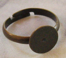 Messingring 10 mm Scheibe