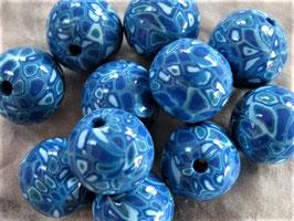 Extruder Perlen Blau