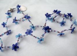 K Blümchen, blau, einzelne Blüten