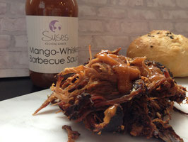 Mango-Whiskey Barbecue Sauce