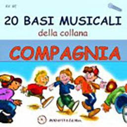 20 BASI MUSICALI della collana COMPAGNIA - CD